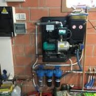 Pompe et filtre eau de pluie
